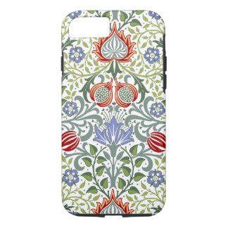 Capa iPhone 8/ 7 Teste padrão persa floral do vintage de William