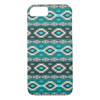 Capa iPhone 8/ 7 Teste padrão tribal étnico do navajo do sudoeste
