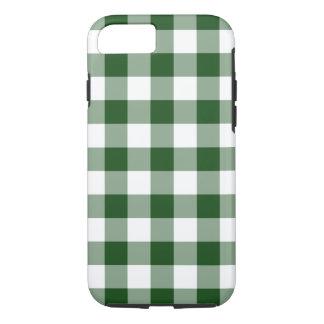 Capa iPhone 8/ 7 Teste padrão verde e branco considerável do