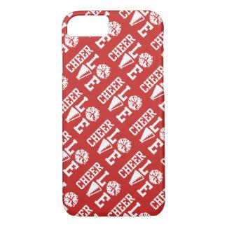 Capa iPhone 8/ 7 Teste padrão vermelho do amor do elogio