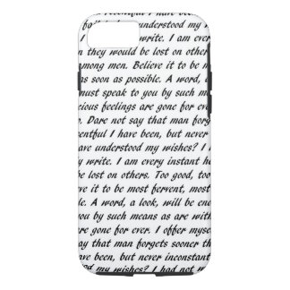 Capa iPhone 8/ 7 Texto da persuasão
