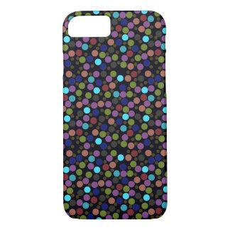 Capa iPhone 8/ 7 textura das bolinhas