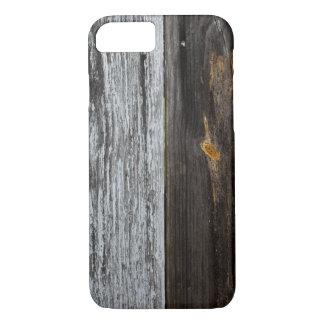 Capa iPhone 8/ 7 Textura de madeira