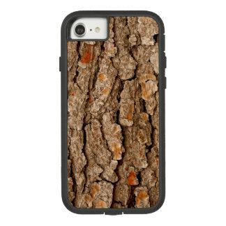 Capa iPhone 8/ 7 Textura do latido de pinheiro