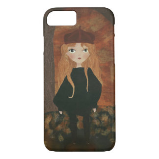 "Capa iPhone 8/ 7 ""The Autumn Girl"" iPhone Compartimento"
