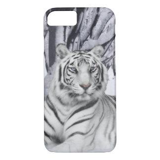 Capa iPhone 8/ 7 Tigre branco