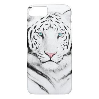 Capa iPhone 8/ 7 Tigre branco Siberian
