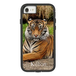Capa iPhone 8/ 7 Tigre e nome