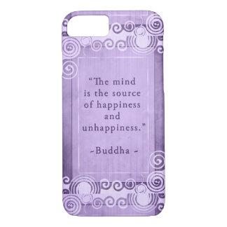 Capa iPhone 8/ 7 Tipografia inspirada das citações de Buddha