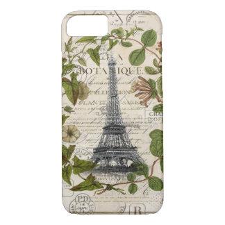 Capa iPhone 8/ 7 torre Eiffel feminino moderna de Paris da grinalda