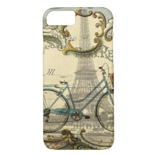 Capa iPhone 8/ 7 torre Eiffel moderna francesa de Paris da