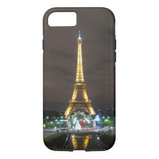Capa iPhone 8/ 7 Torre Eiffel na noite, Paris