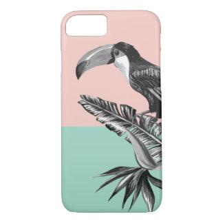 Capa iPhone 8/ 7 Toucan exótico na moda