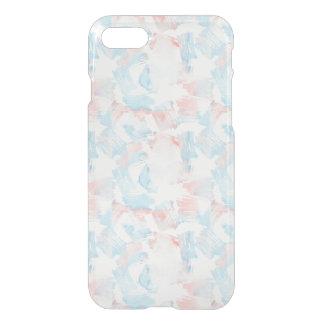 Capa iPhone 8/7 Traços cor-de-rosa de turquesa