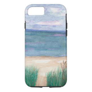 Capa iPhone 8/ 7 Trajeto Lanscape da praia
