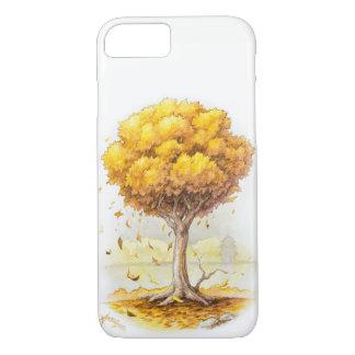 Capa iPhone 8/ 7 Tranquilidade dourada