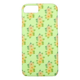 Capa iPhone 8/ 7 três flores amarelas