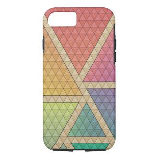 Capa iPhone 8/ 7 Triângulos brilhantes