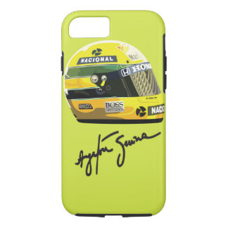 Capa iPhone 8/ 7 Tributo de Ayrton Senna