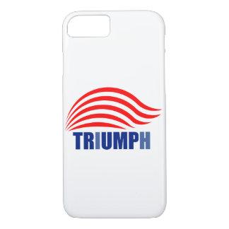 Capa iPhone 8/ 7 Trunfo ao cobrir do telefone de Triump