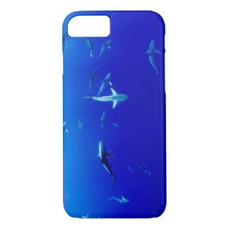 Capa iPhone 8/ 7 Tubarões subaquáticos