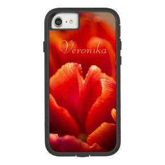 Capa iPhone 8/ 7 Tulipa vermelha