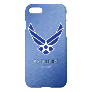 Capa iPhone 8/7 U.S. iPhone aposentado força aérea 7 casos