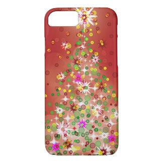 Capa iPhone 8/ 7 Uma árvore de Natal que incandesça