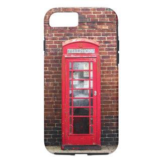 Capa iPhone 8/ 7 Uma caixa de telefone britânica velha