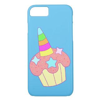 Capa iPhone 8/ 7 unicórnio do cupcake