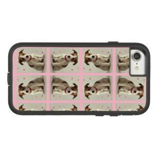 Capa iPhone 8/ 7 Ursinho no rosa