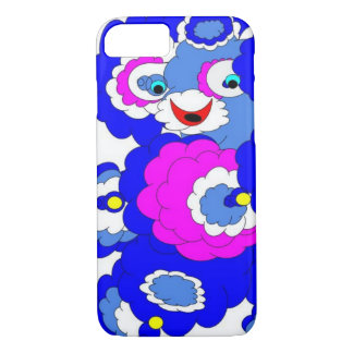 Capa iPhone 8/ 7 Urso azul distorcido