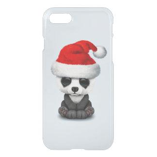 Capa iPhone 8/7 Urso de panda do bebê que veste um chapéu do papai