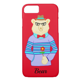 Capa iPhone 8/ 7 urso do geek
