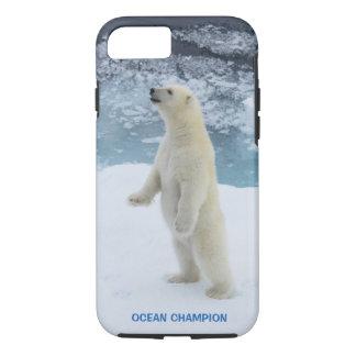 Capa iPhone 8/ 7 Urso polar ártico ereto