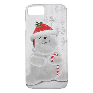 Capa iPhone 8/ 7 Urso polar do Natal