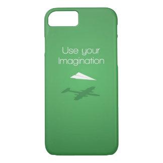 Capa iPhone 8/ 7 Use sua imaginação