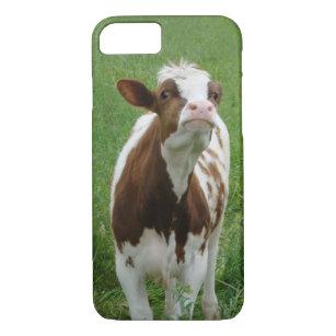 Capa iPhone 8/ 7 Vaca de leite da leiteria na fazenda