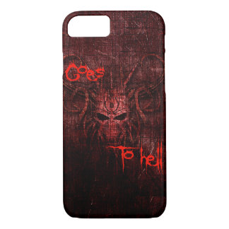 Capa iPhone 8/ 7 Vai ao inferno