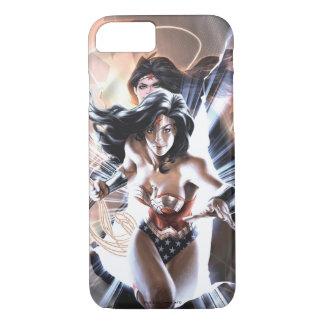 Capa iPhone 8/ 7 Variação cómica do cobrir #609 da mulher maravilha