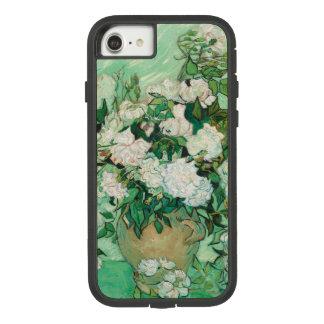 Capa iPhone 8/ 7 Vaso de Vincent van Gogh com rosas cor-de-rosa