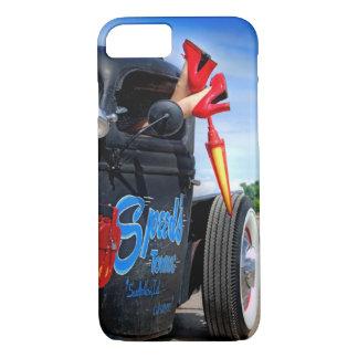 Capa iPhone 8/ 7 Velocidades que rebocam o Pinup Rockabilly de