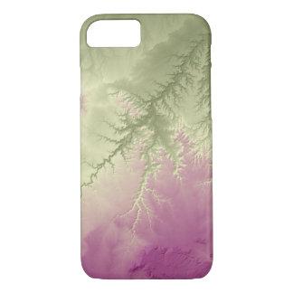 Capa iPhone 8/ 7 Verde abstrato de Colorado das variações ao roxo