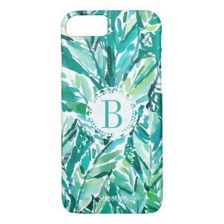 Capa iPhone 8/ 7 Verde da SELVA da FOLHA da BANANA tropical