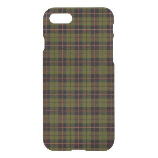 Capa iPhone 8/7 Verde do exército de Odee, com xadrez preta