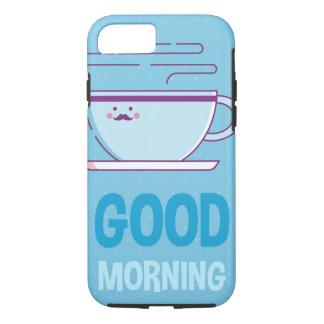 Capa iPhone 8/ 7 Viciados do café do bom dia