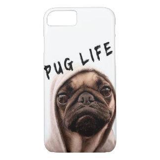 Capa iPhone 8/ 7 Vida engraçada 3 do Pug