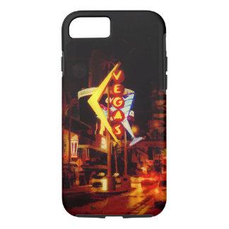Capa iPhone 8/ 7 Vida noturno de Vegas - Las Vegas Nevada
