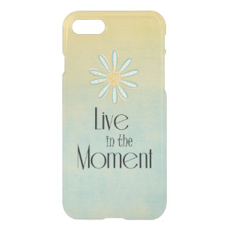 Capa iPhone 8/7 Vida viva inspirada nas citações do momento