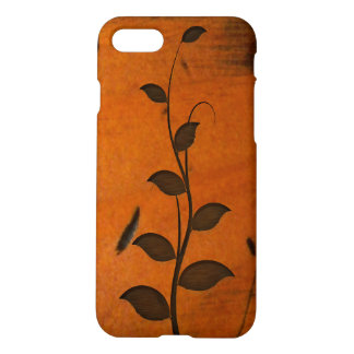 Capa iPhone 8/7 Videira crescente na madeira de pinho Báltico